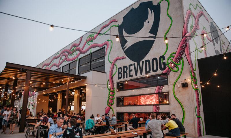 Pub und Brauerei von Brewdog in Brisbane