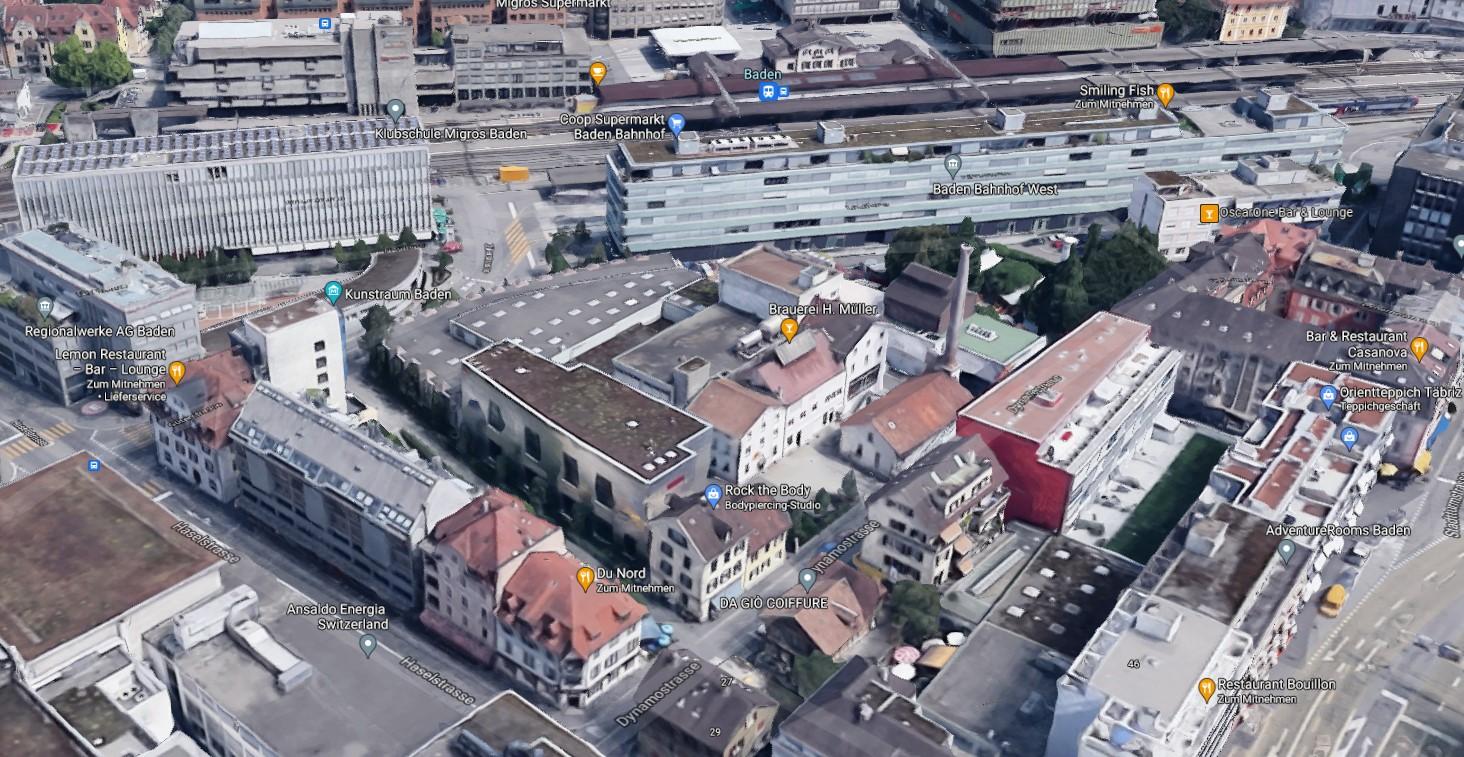 Google Maps Müller Baden